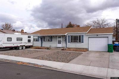 Sparks Single Family Home Active/Pending-Loan: 2800 Stine