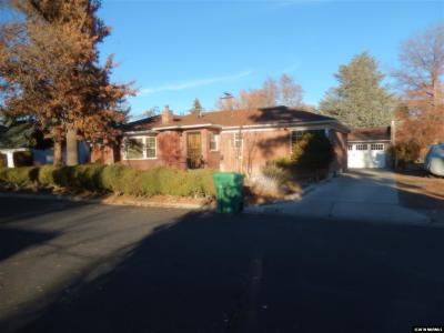 Washoe County Single Family Home Back On Market: 630 Cardinal Way