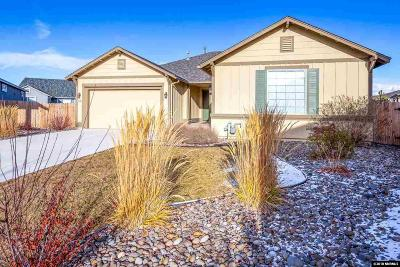 Gardnerville Single Family Home Active/Pending-Loan: 1232 Lasso Lane
