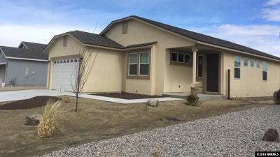 Fallon Single Family Home Active/Pending-Loan: 1348 Onda Verde