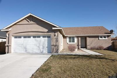 Fernley Single Family Home Active/Pending-Loan: 1809 Westward