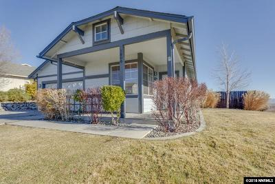 Washoe County Single Family Home Active/Pending-Loan: 1800 Saturno Heights