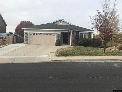 Washoe County Single Family Home Active/Pending-Loan: 4090 Royal Sage