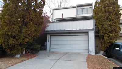 Reno Condo/Townhouse For Sale: 3545 Rosalinda Drive