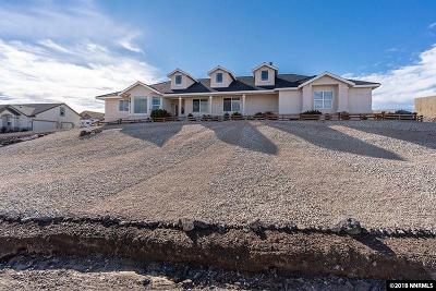 Fernley Single Family Home For Sale: 1035 Sage Street