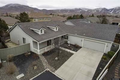 Single Family Home Active/Pending-Loan: 1421 Wild Wolf Way #NV