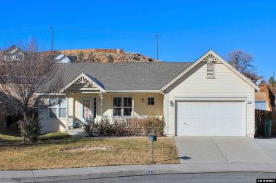 Sparks NV Single Family Home Back On Market: $397,500
