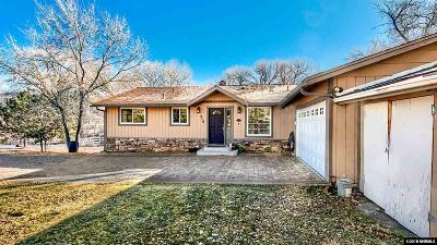 Reno Single Family Home Active/Pending-House: 210 Rhodes Rd