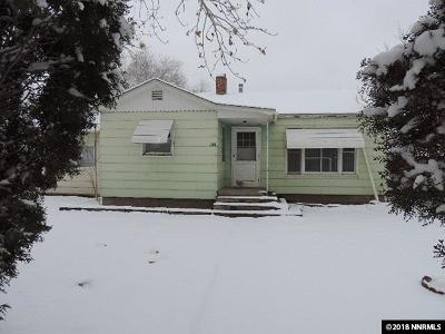 Fernley Single Family Home Active/Pending-Call: 150 S Center