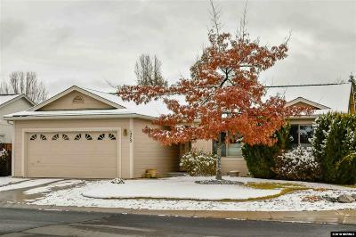 Carson City Single Family Home Active/Pending-Call: 1275 Ginger