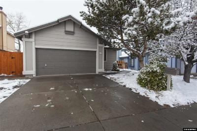 Washoe County Single Family Home Active/Pending-Loan: 1111 McGee Dr.