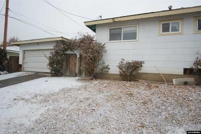Washoe County Single Family Home For Sale: 2195 Coleman