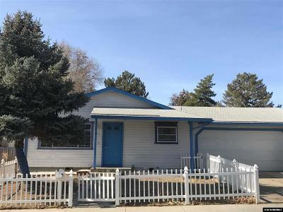 Carson City Single Family Home For Sale: 954 Woodside Drive