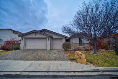 Washoe County Single Family Home For Sale: 521 Secretariat Ct