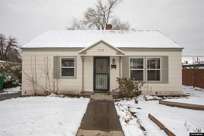 Reno Single Family Home Active/Pending-Loan: 725 Balzar Cir