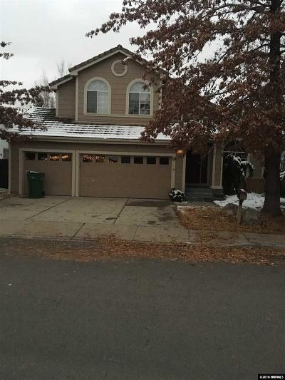 Washoe County Single Family Home Active/Pending-Call: 6068 Torrington