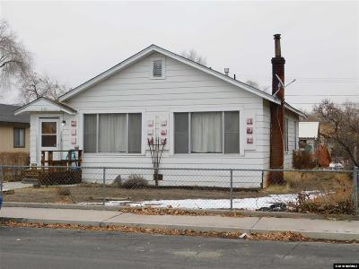 Fallon Single Family Home For Sale: 635 Churchill
