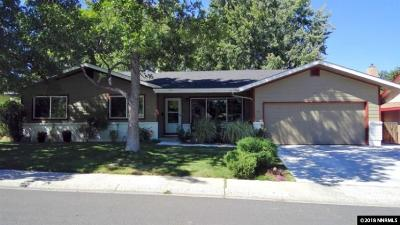 Reno Single Family Home Active/Pending-Loan: 855 Pennsylvania Drive