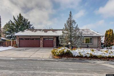 Washoe County Single Family Home For Sale: 3080 Homewood Dr