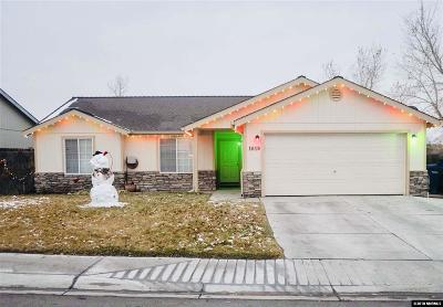 Fernley Single Family Home For Sale: 1619 Meadows Ave.