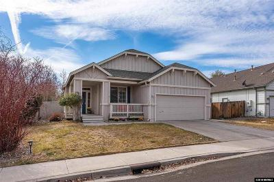 Washoe County Single Family Home Active/Pending-Loan: 5540 Daybreak Dr.