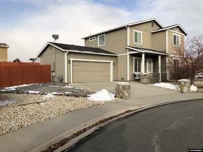 Washoe County Single Family Home New: 17715 Wood Leaf Ct