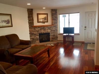 Stateline Condo/Townhouse Active/Pending-Loan: 495 Tramway #7
