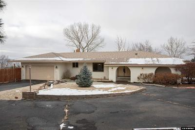 Washoe County Single Family Home New: 13965 Rancheros Drive