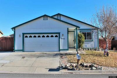 Washoe County Single Family Home New: 6520 Tejon Ct