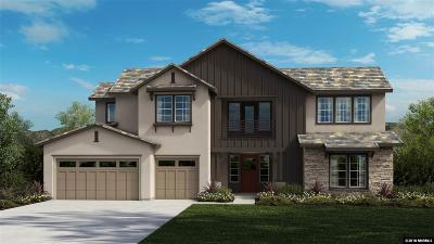 Washoe County Single Family Home New: 9100 Boomtown Garson Rd #Lot 178