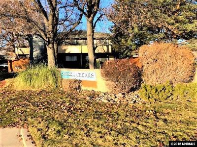 Reno Condo/Townhouse For Sale: 2217 Kietzke Lane #C