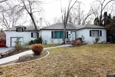 Washoe County Single Family Home For Sale: 380 Morningside Drive