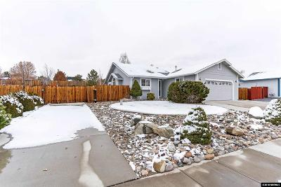 Washoe County Single Family Home New: 1084 Gadwall