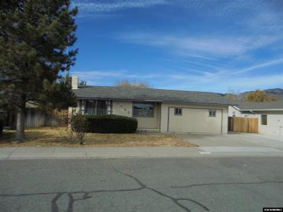 Carson City Single Family Home Back On Market: 3468 Indian Dr