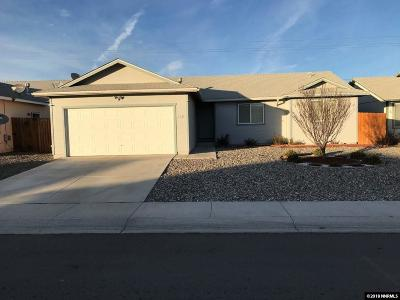 Fernley Single Family Home For Sale: 2134 Fort Bridger Road