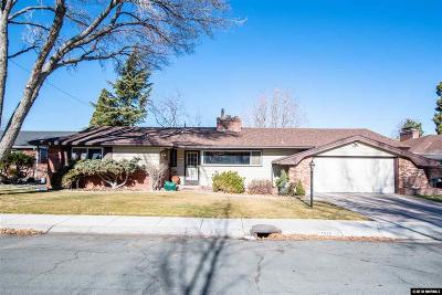 Reno Single Family Home For Sale: 1815 Marla Drive