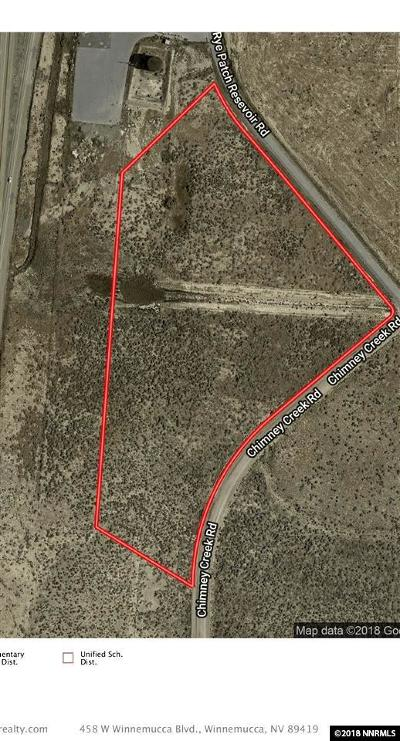 Lovelock Residential Lots & Land For Sale: 11305 Rye Patch Reservoir Rd