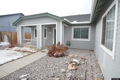 Reno Single Family Home New: 9921 Crystalline