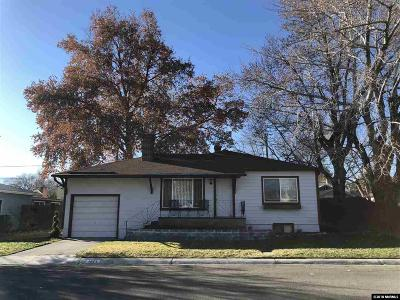 Reno Single Family Home For Sale: 1671 Watt Street