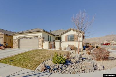 Reno Single Family Home New: 1110 Wakefield Trail