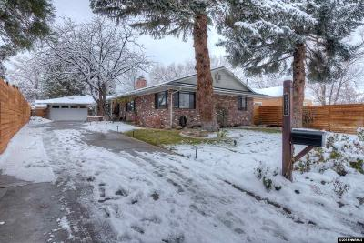Washoe County Single Family Home New: 2315 Homestead