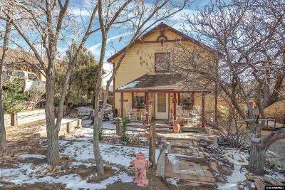 Virginia City Single Family Home Active/Pending-Loan: 195 S I St