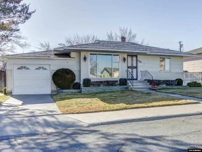 Reno Single Family Home New: 751 Balzar Circle