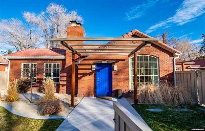 Washoe County Single Family Home New: 210 Bret Harte Ave