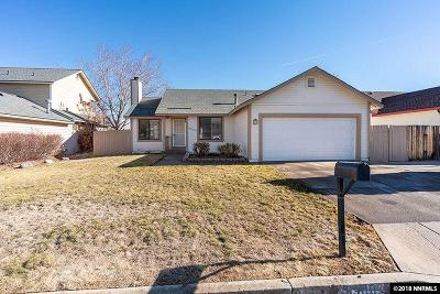 Sparks Single Family Home Active/Pending-Loan: 6900 Sunkist Drive