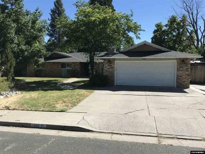 Washoe County Single Family Home Active/Pending-Loan: 1000 Joshua Drive