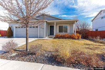 Washoe County Single Family Home New: 18198 Spruce Lake