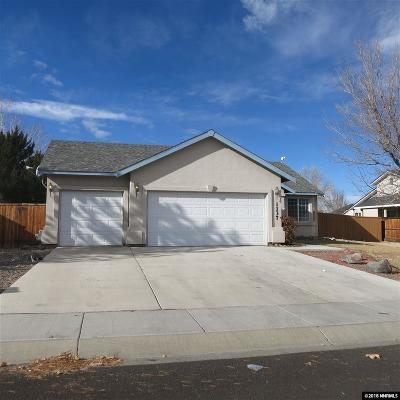 Fernley Single Family Home New: 1137 Dixie Ln