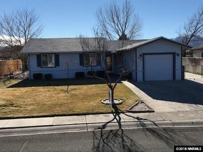 Gardnerville Single Family Home For Sale: 1315 Honeybee