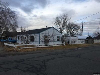 Yerington Single Family Home For Sale: 204 Valley Dr